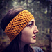 Honeycomb headband pattern