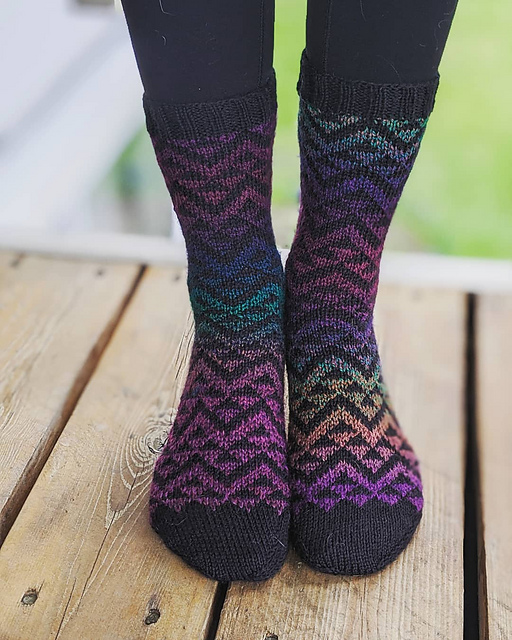 Indie Design Gift Along 2020 Fave Sock Patterns 66