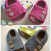 schoolboy baby sandals pattern