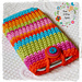 Bright & Stripy Mobile Cover pattern
