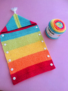 Ravelry Promises Rainbow Baby Sleep Sack Pattern By Alicia