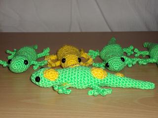 Crochet Toy Gecko Frecko Lizard Plush Amigurumi Free Pattern ... | 240x320