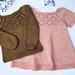 Anselma Sweater and Dress pattern