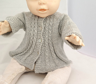 Billy's Girl Flared Cardigan pattern by Alma Mahler
