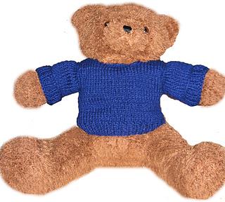 Knitted Teddy bear sweater