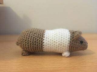 Pudding & Cake, crochet guinea pig patterns | Son's Popkes | 240x320