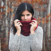 Chunky Cables Cowl pattern