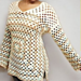Granny Square Sweater pattern