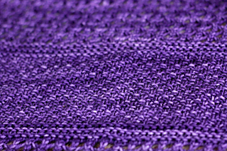 Moss Stitch Right Side