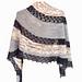 Hale-Bopp Shawl pattern