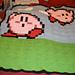 8-Bit Kirby Blanket pattern