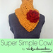 Super Simple Cowl pattern