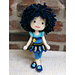 Amigurumi Doll 'Blue Pansy' pattern