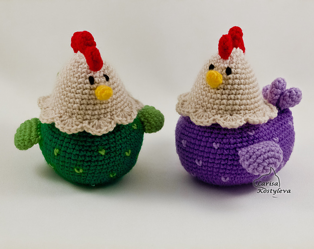 Hen & Chicks Amigurumi - Free Crochet Pattern | Craft Passion | 508x640