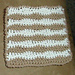 Wavy Dishcloth pattern