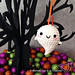 Baby Ghost Ornaments for Halloween pattern