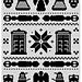 Doctor Who Fair Isle pattern