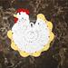 Chicken Potholder pattern