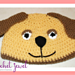 Puppy Dog Child hat pattern