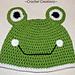 Frog Child Hat pattern