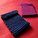 Bobble-wrap Kindle case pattern