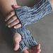 Diagonal Slip-Stitch Mitts pattern