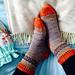 Emlyn socks pattern
