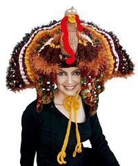 Sexy Turkey Hat - CROCHET PATTERN