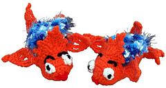Funny Fish Feet Baby Booties - Crochet Pattern