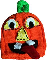 Spooky Jack Hat - Knitting Pattern