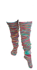 Scrunch Stockings - Knitting Pattern