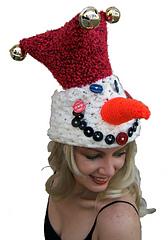 Jingle the Snow Jester Hat - Crochet Pattern