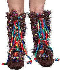 Funky Feet Snow Boots - CROCHET PATTERN