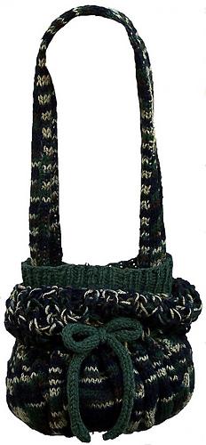 Camouflage Hobo Bag - Knitting Pattern