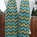 Simple Chevron Stripe Scarf pattern