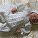 Baby Boy's Crochet Christening or Special Occasion Suit and Hat pattern