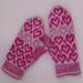 Valentine mittens pattern