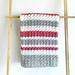 Sedge Stripes Baby Blanket pattern