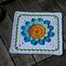 Sommer-Sonne-Gute-Laune Granny Square pattern