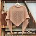 Tramonto Shawl pattern