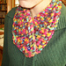 Buttoned Eyelet Cowl pattern