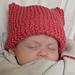 Meow Head Baby Hat pattern