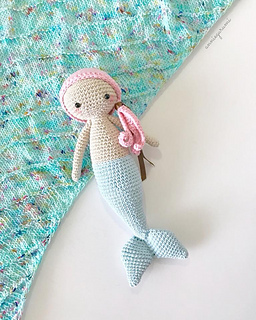 Aurora Mermaid amigurumi pattern - Amigurumi Today - Amigurumi ... | 320x256