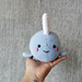 Chubby Narwhal/Whale Amigurumi pattern