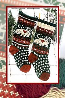 Bear Christmas Stocking.Bear Christmas Stocking Pattern By Annie S Woolens