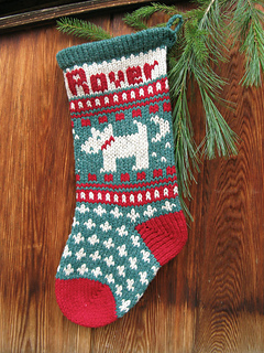 Dog Christmas Stocking.Pet Dog Christmas Stocking Pattern By Annie S Woolens