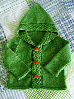 A cardigan for Merry - front