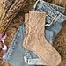 Flame socks pattern
