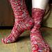 Waving Bamboo Socks pattern