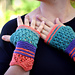 Kitto Fingerless Mitts pattern